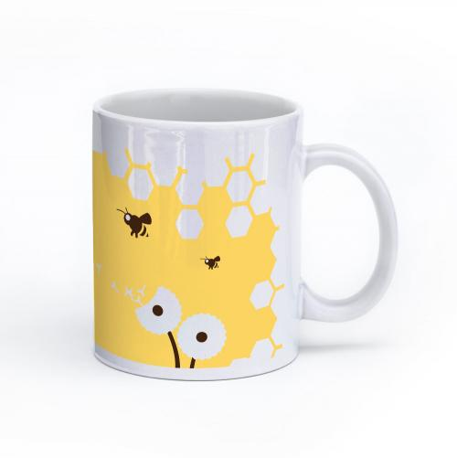 bee mug 11oz right