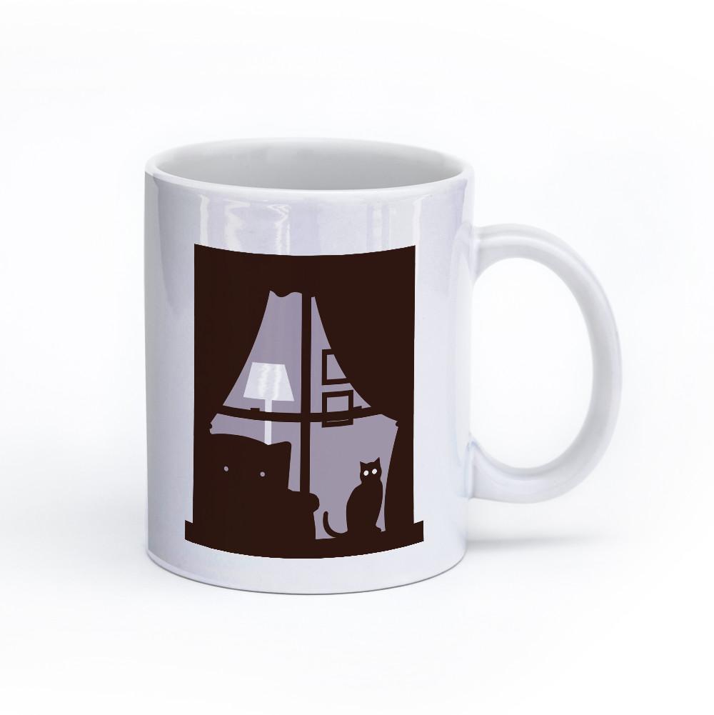 cat mug 11oz right