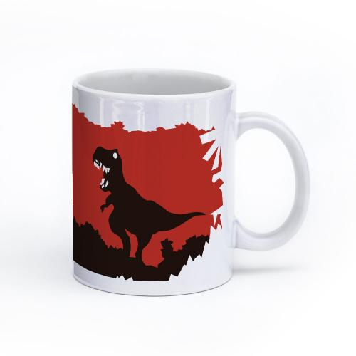 dinosaur mug 11oz right