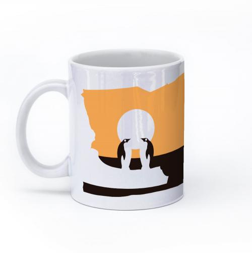 penguin mug 11oz left