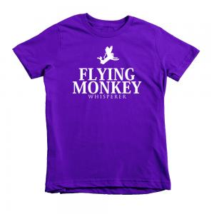 kids flying monkey shirt