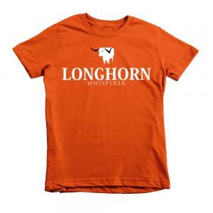 kids longhorn tshirt