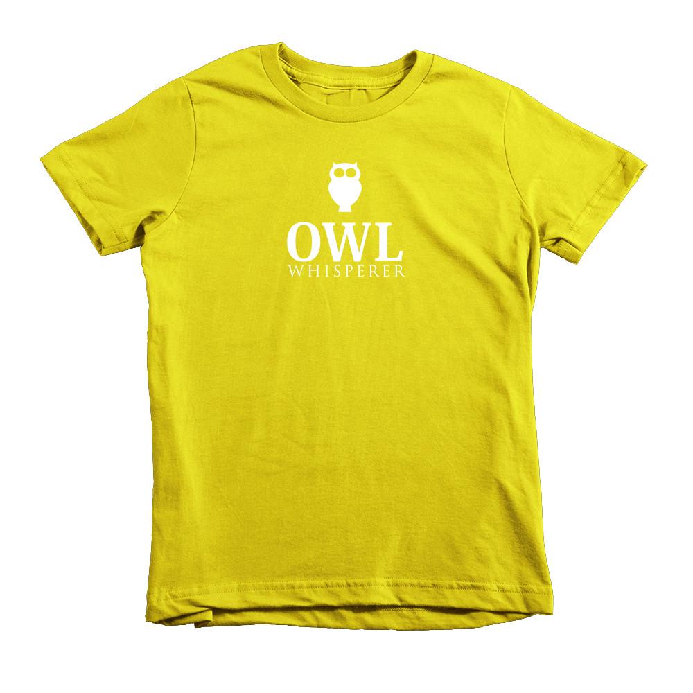 kids owl tshirt
