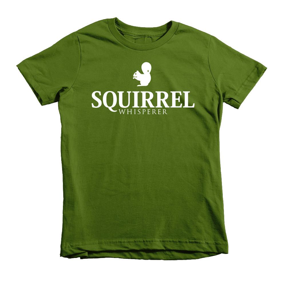 kids squirrel tshirt