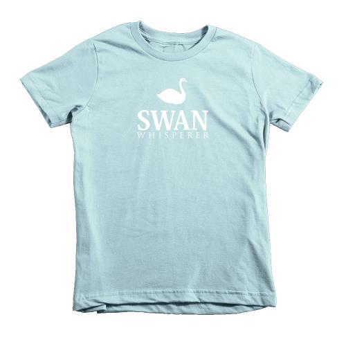 kids swan tshirt