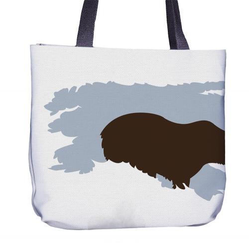 Bear Tote Bag Front