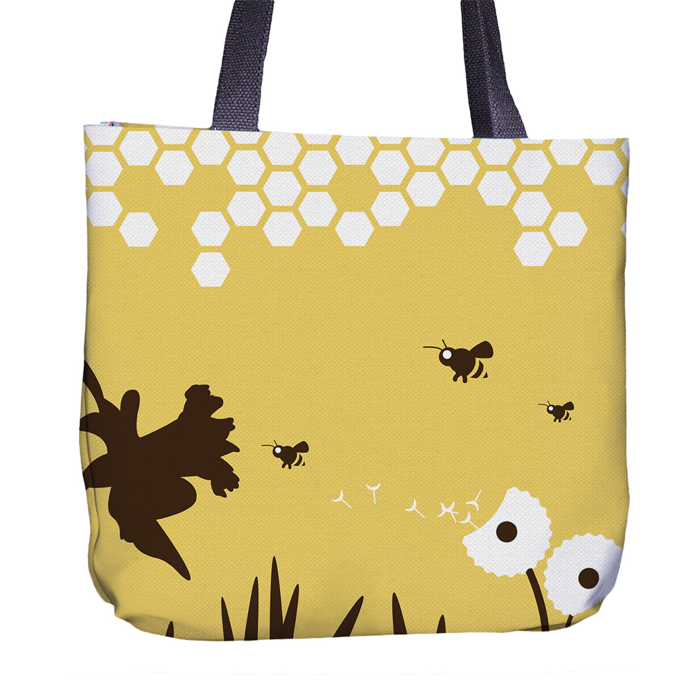 Bee Tote Bag Front