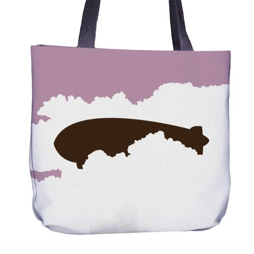 Bird Tote Bag Back
