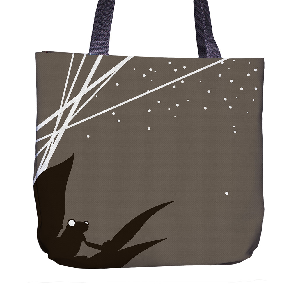 Frog Tote Bag Back