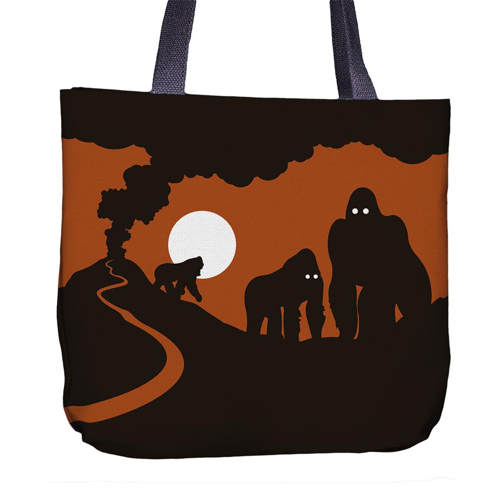 Gorilla Tote Bag Back