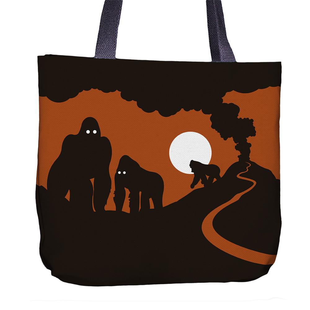 Gorilla Tote Bag Front
