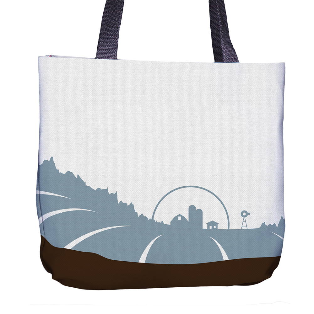 Horse Tote Bag Front