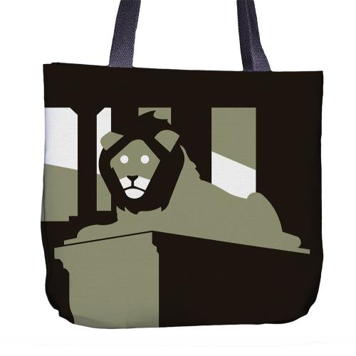 Lion Tote Bag Front
