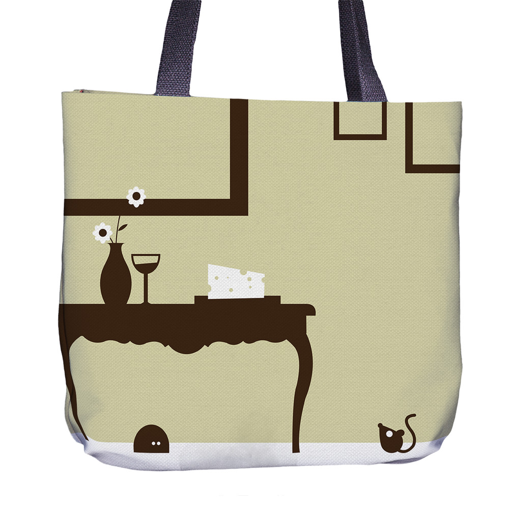 Mouse Tote Bag Front