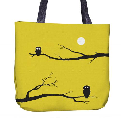 Owl Tote Bag Front