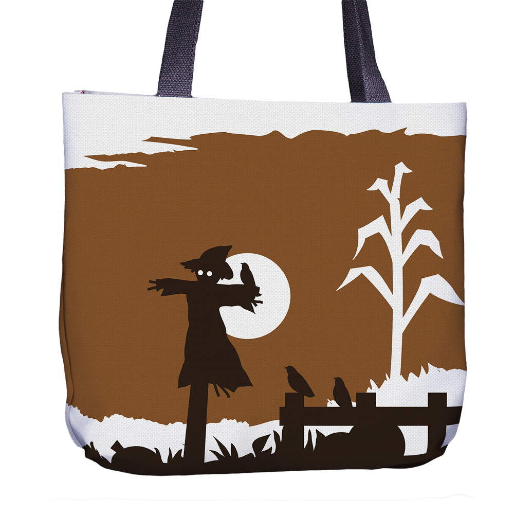 Scarecrow Tote Bag Back