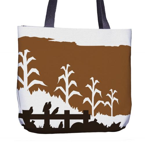Scarecrow Tote Bag Front