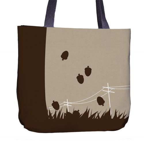 Squirrel Tote Bag Front