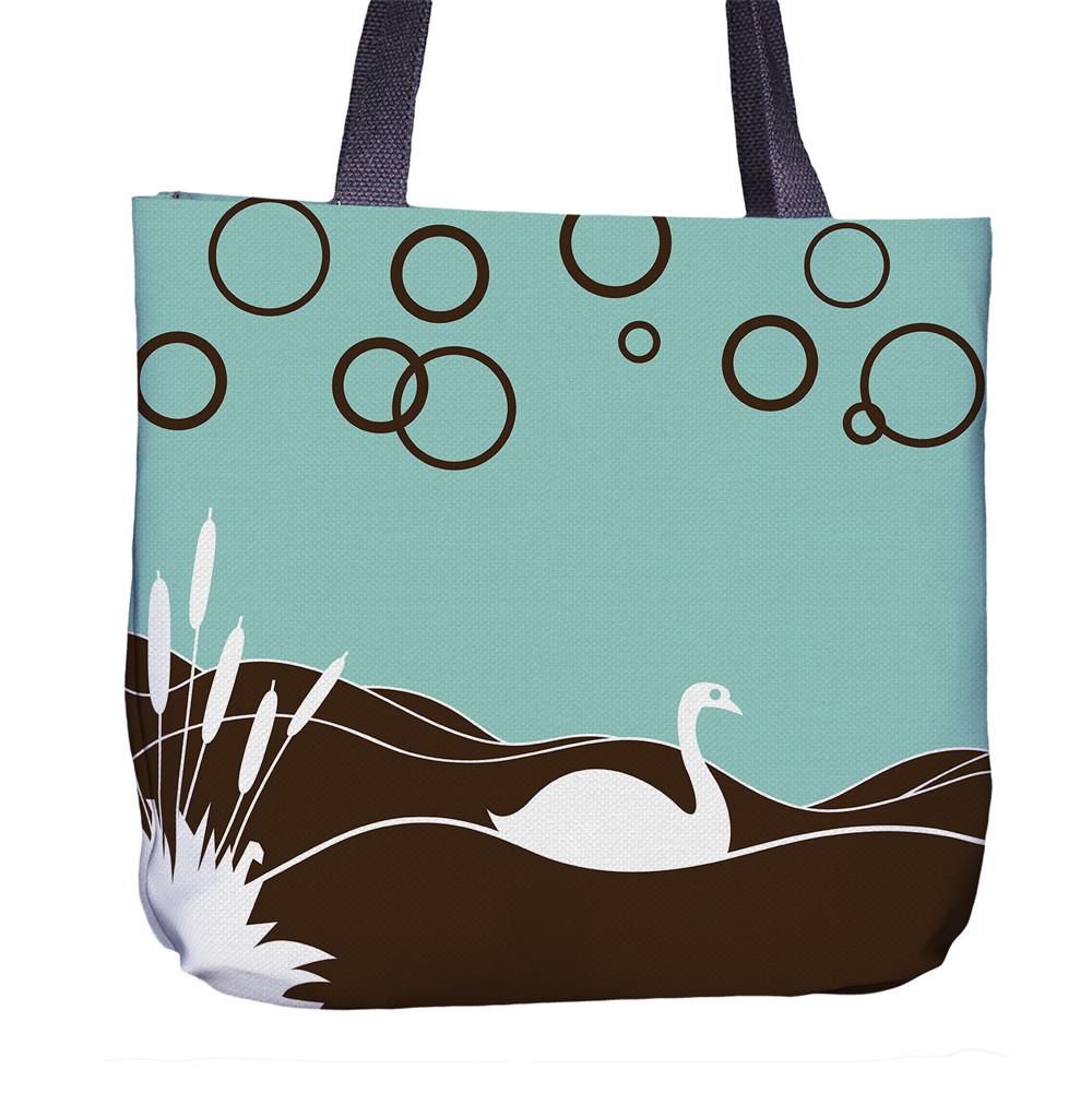 Swan Tote Bag Front