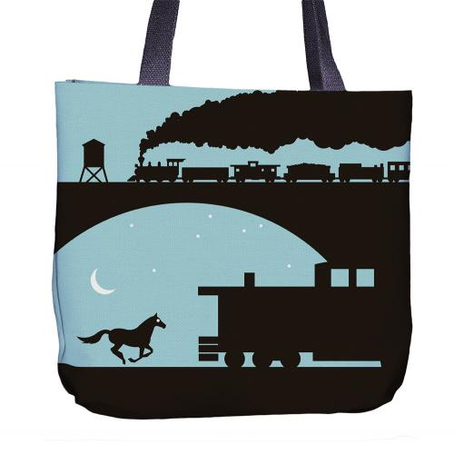Turtle Tote Bag Front