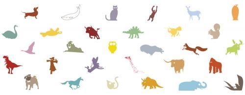 animal mug 11oz color design