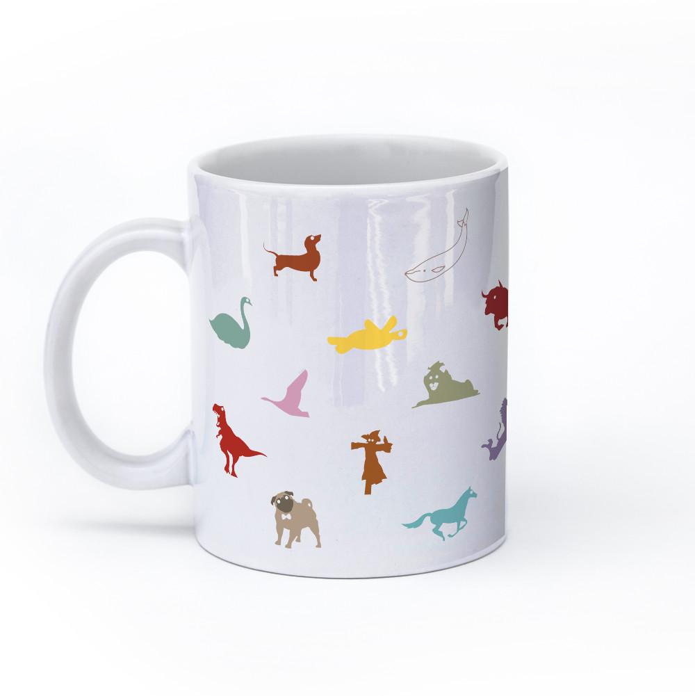 animal mug 11oz color left