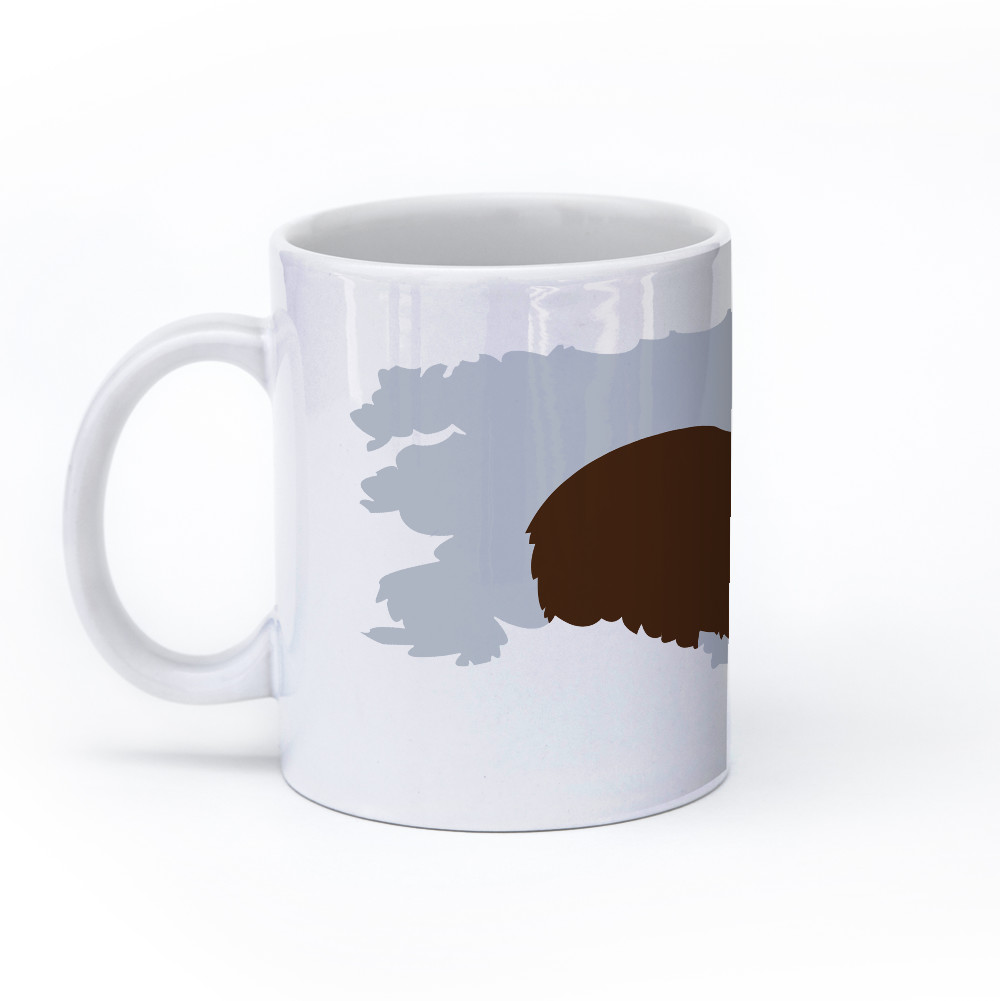 bear mug 11oz left