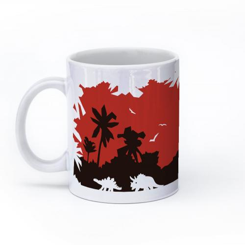 dinosaur mug 11oz left