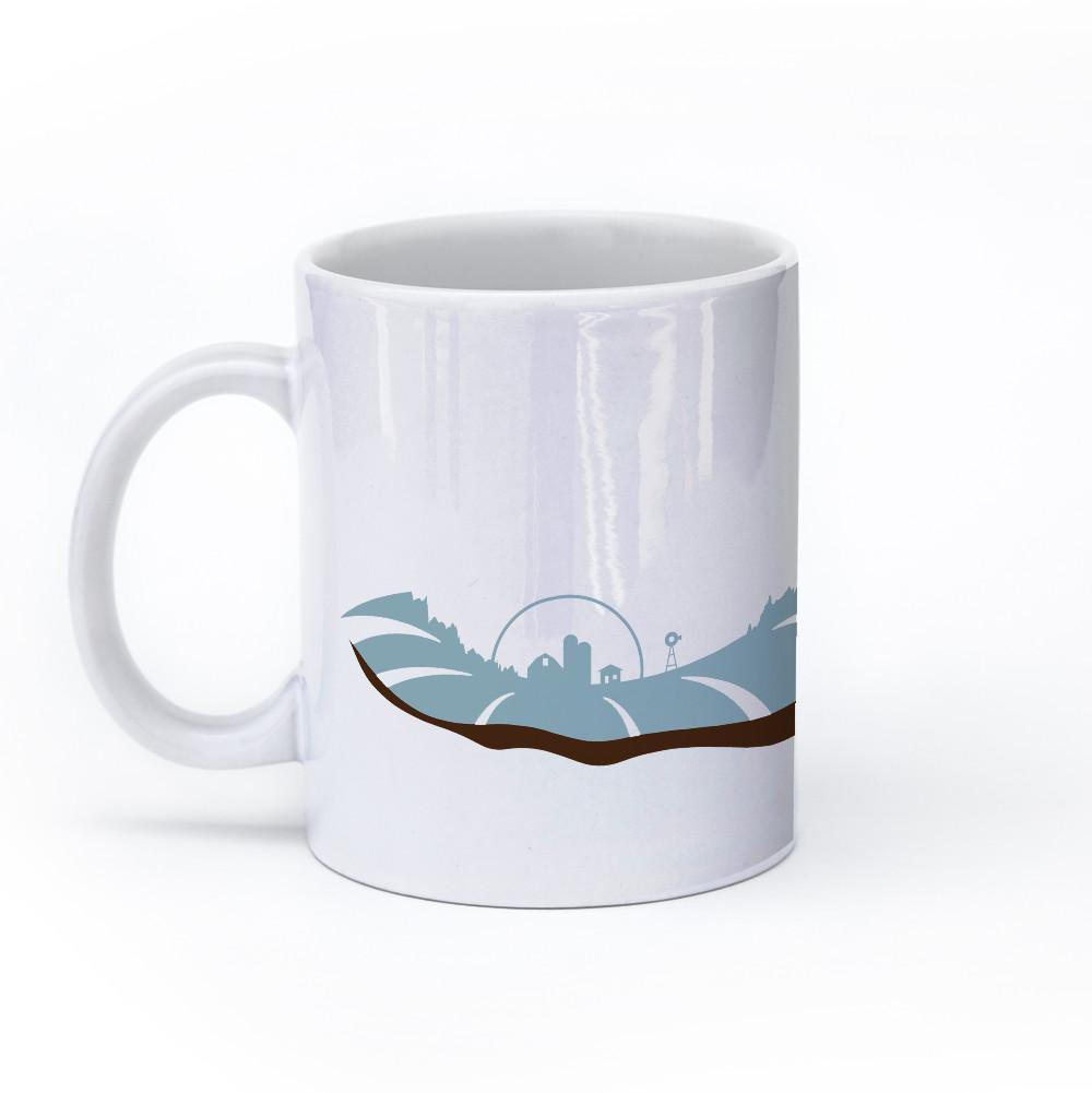 horse mug 11oz left