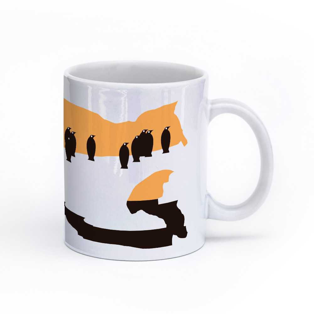 penguin mug 11oz right