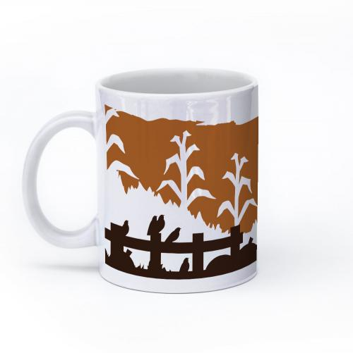 scarecrow mug 11oz left