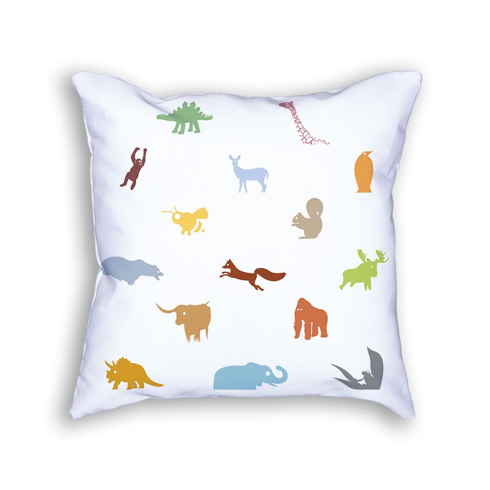 Animal Pillow Color Back