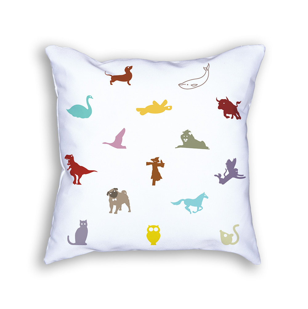 Animal Pillow Color Front
