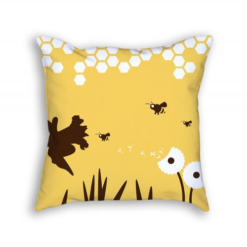 Bee Pillow Front