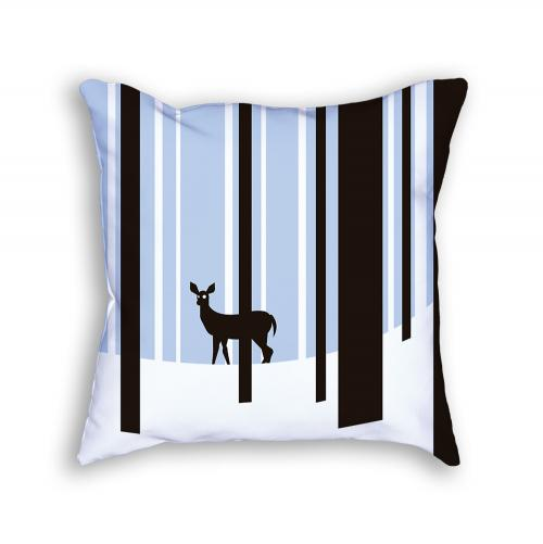 Deer Pillow Front