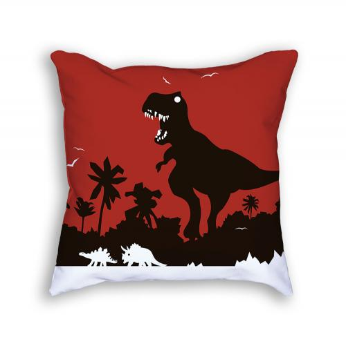 Dinosaur Pillow Front
