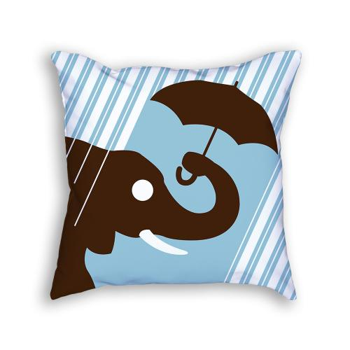 Elephant Pillow Front
