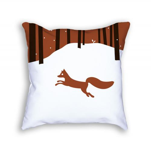 Fox Pillow Front