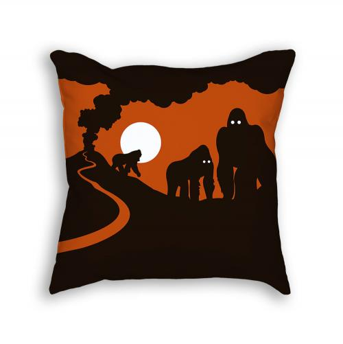 Gorilla Pillow Back