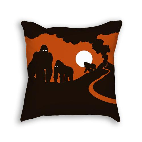 Gorilla Pillow Front