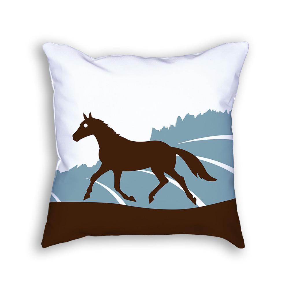 Horse Pillow Front