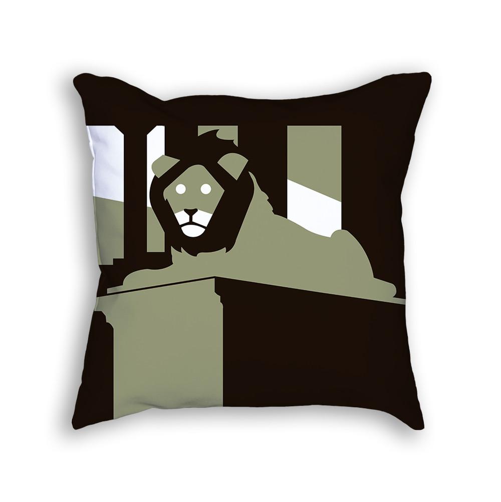 Lion Pillow Front