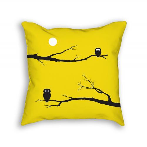 Owl Pillow Back