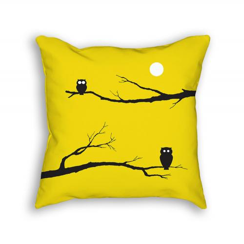 Owl Pillow Front