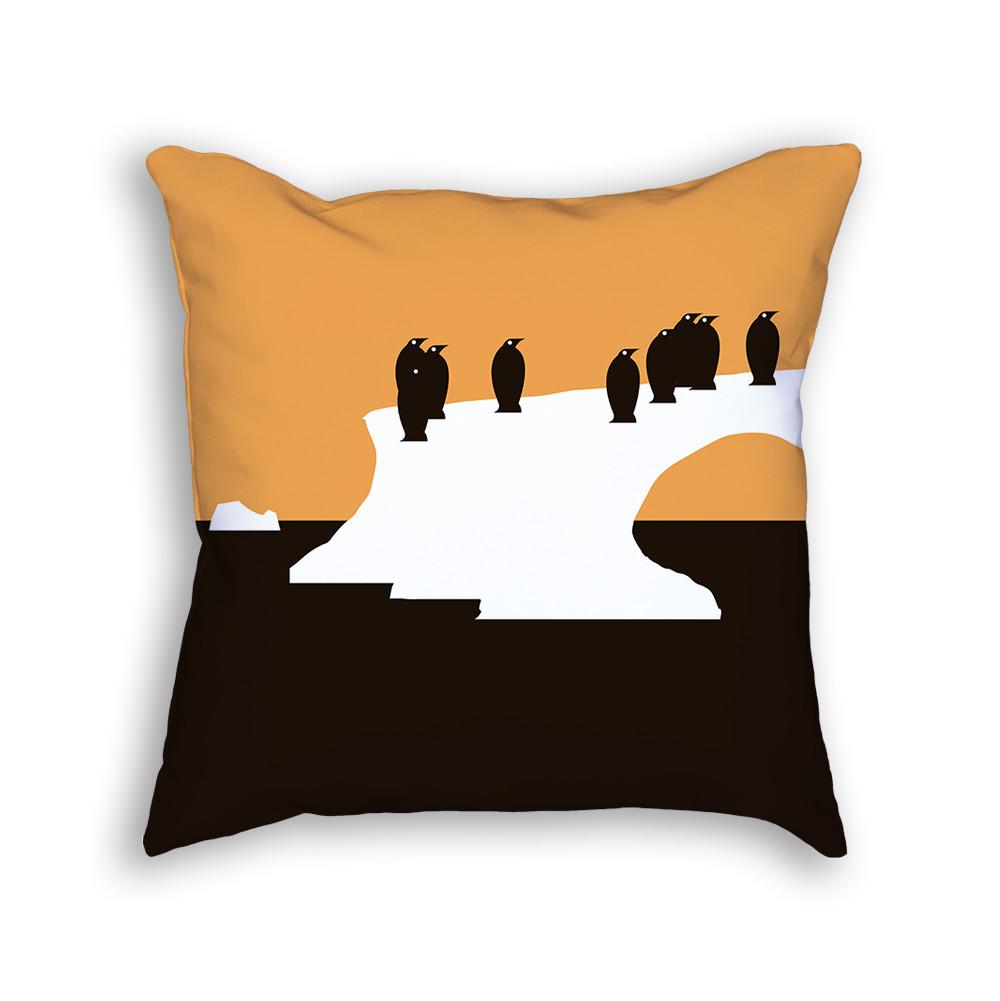 Penguin Pillow Back