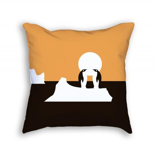 Penguin Pillow Front