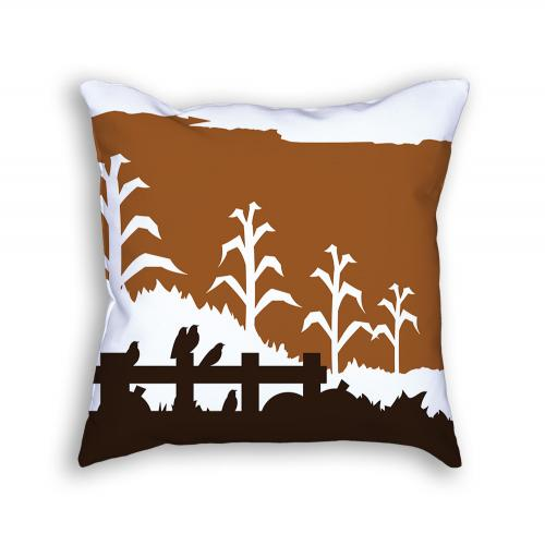 Scarecrow Pillow Back