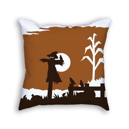 Scarecrow Pillow Front