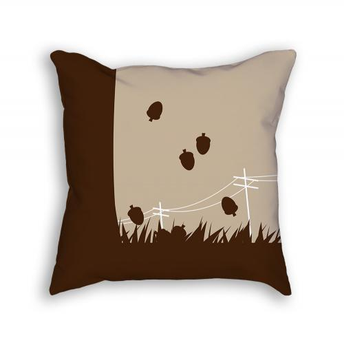 Squirrel Pillow Back